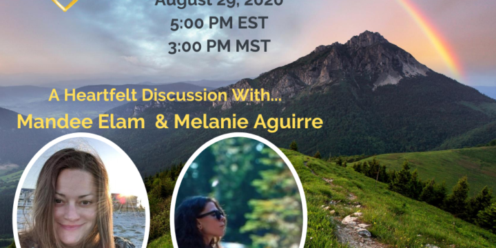 Podcast: Heart Over Ego Radio, Creating Heaven on Earth: Ascending from the 3D to the 5D with Mandee Elam and Melanie Aguirre